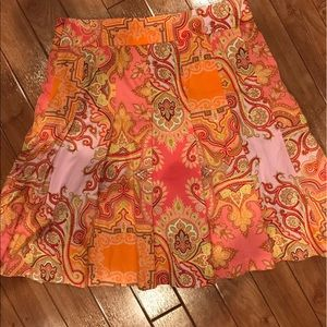J. Crew Dresses & Skirts - Jcrew size 8 midi skirt cotton