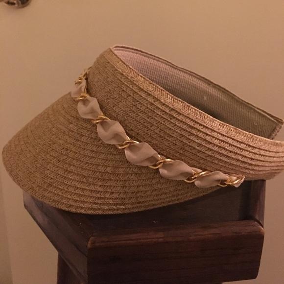 73a3f4d53 Riviera Packable Sun Visor Hat NWT