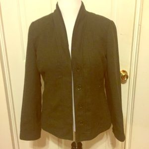 NWT Coldwater Creek Dark Green Jacket size 10