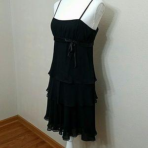 EUC Silk Nine West Perfect Little Black Dress 6