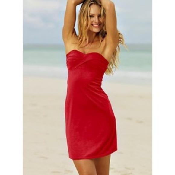 8689c45e23 Victoria's secret red strapless bra top dress. M_58f839bb6a58303c15005511