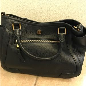Tory Burch Frances Small Satchel Black