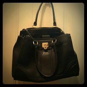Guess Handbags - Black GUESS purse with 7 COMPARTMENTS!