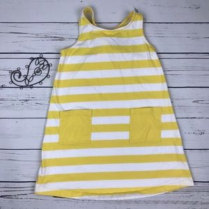 Hanna Andersson Other - Hanna Anderson Striped Yellow Sundress Pockets