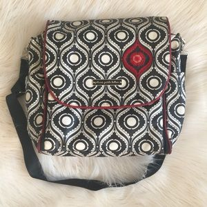 Petunia Pickle Bottom Handbags - Petunia Pickle Bottom Boxy Backpack Diaper Bag