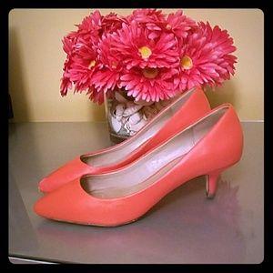 Aldo Shoes - Aldo size 8.5 coral heels
