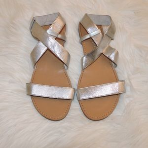 Madden Girl Shoes - Madden Girl silver sandals