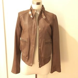 Joie Jackets & Blazers - Joie bomber leather jacket