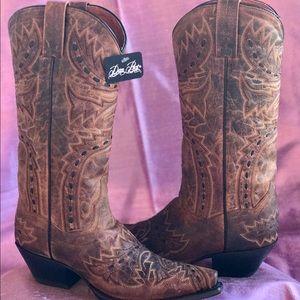 Dan Post Shoes - NWT Dan Post Embroidered Cowboy Boots