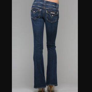 Hudson Bootcut Jeans.
