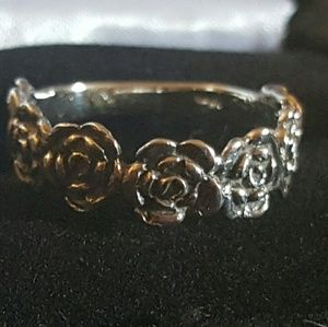 7 Diamonds Jewelry - 🐝SPRING SALE ⚘STERLING SILVER ROSE RING🌹