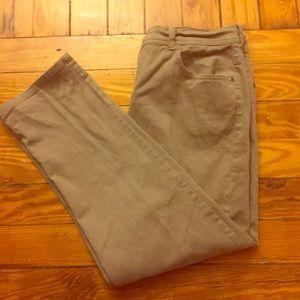 Vintage Gloria Vanderbilt High Waisted Tan Jeans