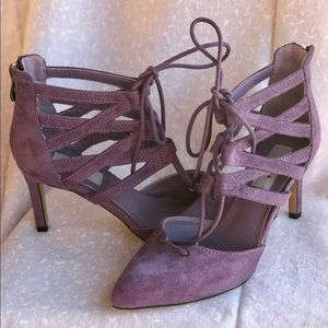 Chelsea & Zoe Shoes - ⚡️REDUCED⚡️Brand New Lavender Chelsea & Zoe Heels