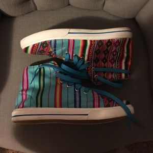 inkkas Shoes - High top colorful sneakers