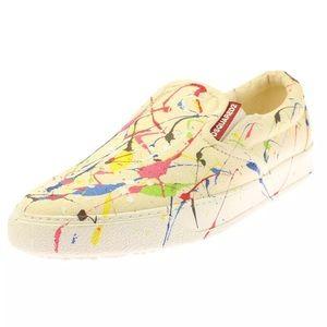 DSQUARED Other - Dsquared2 Mullti Canvas Fashion Sneaker 43.5  $495