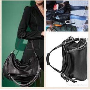 Jimmy Choo Handbags - 💯 AUTH JIMMY CHOO LARGE BIKER BAG