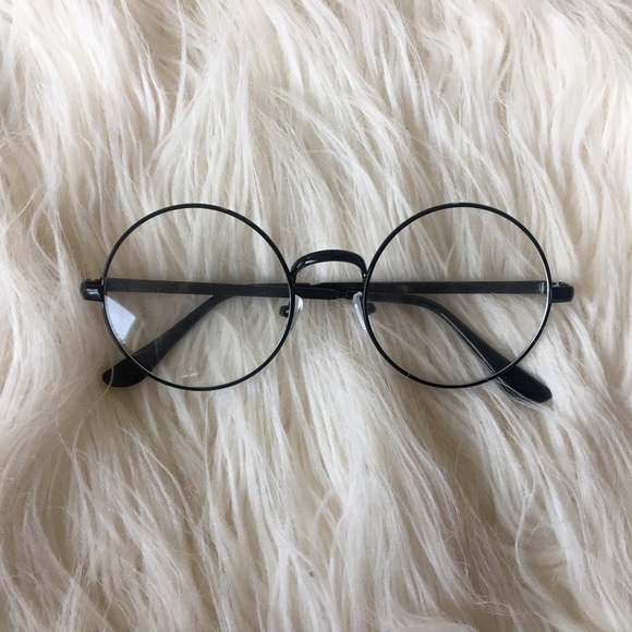 df64cdb585d Korean Trendy Nerdy Circle frame glasses OS  39