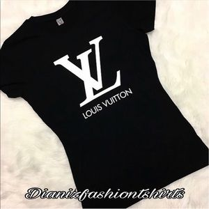 Louis Vuitton Tops - Louis Vuitton personalized shirt 😍