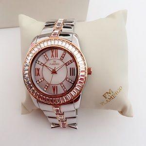 FM Flamingo Swiss Men's Wrist Watch