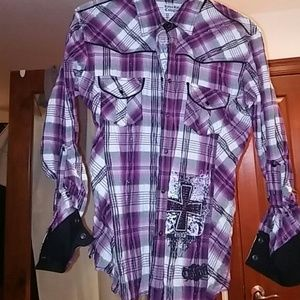 Rock & Roll Cowgirl Tops - Women's Rock and Roll Cowgirl shirt.make offer