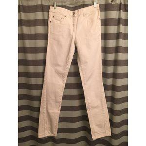 Alexander McQueen Denim - Alexander McQueen white denim jeans
