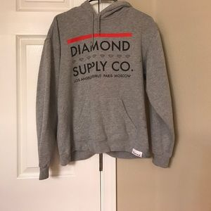 Diamond Supply Co. Tops - Diamond Supply Hoodie
