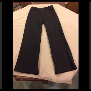 Eileen Fisher Black Linen Pants