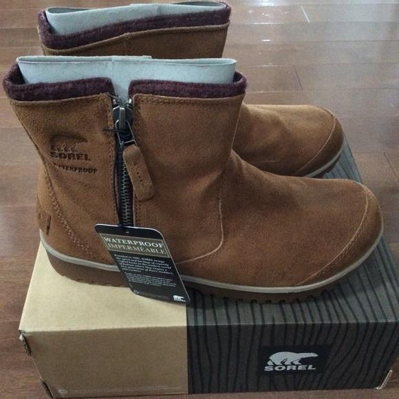 Sorel Meadow Zip Waterproof Boot bFTEGG