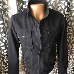 Public School Other - Public School jacket soft black denim sz Medium