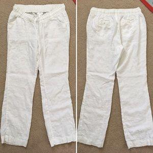 Motherhood Maternity Pants - Maternity linen pants