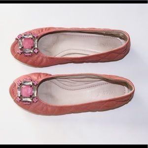 Nicole by Nicole Miller Shoes - NICOLE peep toe flats Sz7