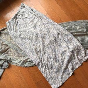 bobeau Dresses & Skirts - Bobeau knit light pink maxi skirt
