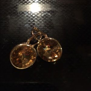 Swarovski Jewelry - Look a like Bella earrings