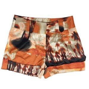 She Said  Pants - NWT She Said orange shorts