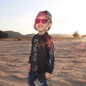 Other - Black Wayfarer Kids Sunglasses