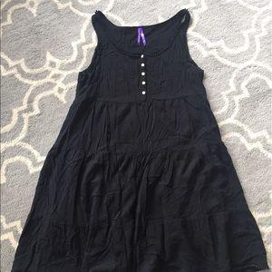 Seraphine Dresses & Skirts - Seraphine Black Tiered Maternity dress