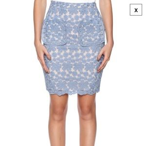 English Factory Dresses & Skirts - Super On-Trend Lace Pencil Skirt