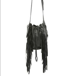 Cleobella Handbags - Cleobella Vanna Fringe Bucket Bag
