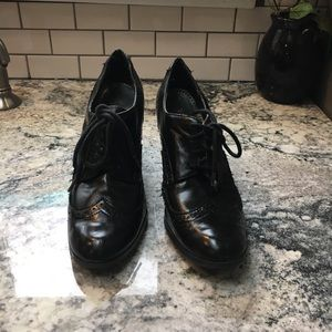 George Shoes - Black oxford style shoes