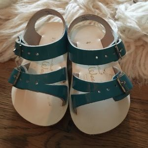 Salt Water Sandals by Hoy Other - Saltwater Sandals. Size 2. Blue