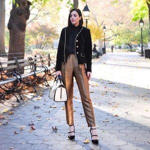 Zara Pants - ZARA Gold Trousers