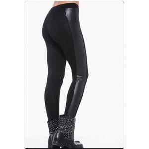 Women's Express Leather Leggings on Poshmark