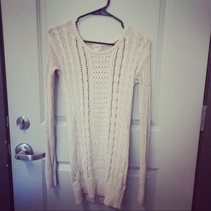 Mossimo Supply Co. Sweaters - Cream Sweater Dress