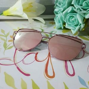 Accessories - HIGH QUALITY CAT EYE MIRROR VINTAGE  SUNGLASSES