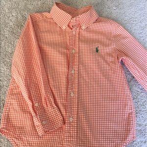 Ralph Lauren kids Orange shirt