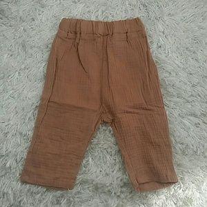 Other - Coral Crepe Harem Shorts.  Kids