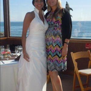 suzi chin Dresses & Skirts - Beautiful flowy print dress sz 8