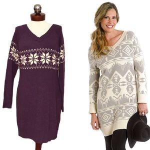 Woolrich Dresses & Skirts - 🆕 WOOLRICH brockden fair isle sweater dress