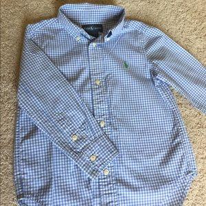 Blue RALPH Lauren Kids Shirt