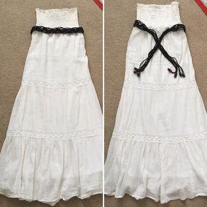 Full Tilt Dresses & Skirts - Boho strapless maxi dress
